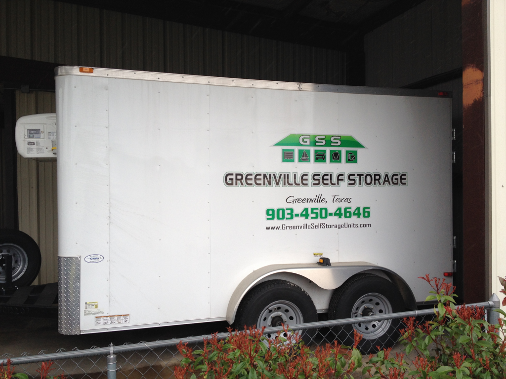 Greenville Self Storage Refrigerated Trailer